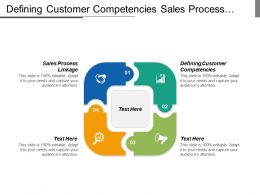 Defining Customer Competencies Sales Process Linkage Example Touch Point