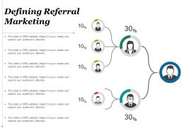 Defining Referral Marketing Example Of Ppt