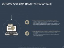Defining Your Data Security Strategy Plan Ppt Powerpoint Presentation Styles