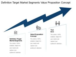 Definition Target Market Segments Value Proposition Concept