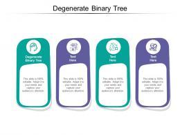 Degenerate Binary Tree Ppt Powerpoint Presentation Model Design Inspiration Cpb