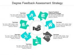 Degree Feedback Assessment Strategy Ppt Powerpoint Presentation Portfolio Styles Cpb