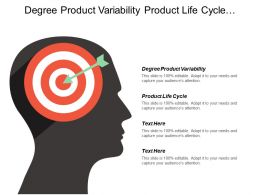 Degree Product Variability Product Life Cycle Situation Analysis
