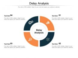 Delay Analysis Ppt Powerpoint Presentation Infographic Template Grid Cpb