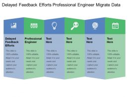 Delayed Feedback Efforts Professional Engineer Migrate Data