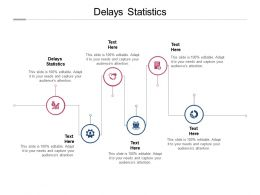 Delays Statistics Ppt Powerpoint Presentation Pictures Gallery Cpb