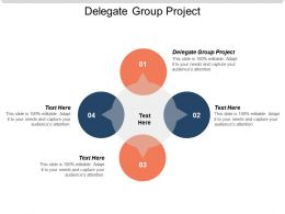 Delegate Group Project Ppt Powerpoint Presentation Gallery Infographic Template Cpb