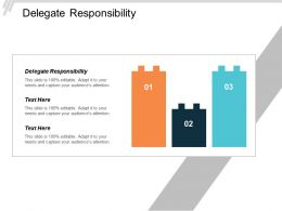 Delegate Responsibility Ppt Powerpoint Presentation Layouts Smartart Cpb