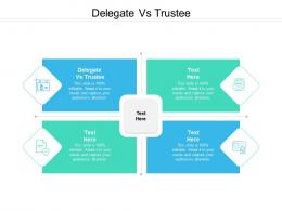 Delegate Vs Trustee Ppt Powerpoint Presentation Outline Background Cpb