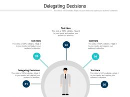Delegating Decisions Ppt Powerpoint Presentation Icon Slide Portrait Cpb