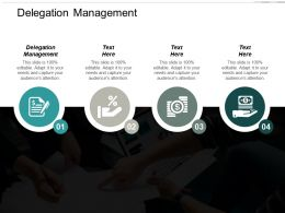 Delegation Management Ppt Powerpoint Presentation Portfolio Example File Cpb