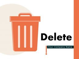 Delete Organizations Database Ecommerce Website Music Sign Envelope