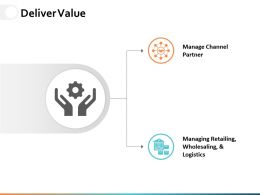 Deliver Value Ppt Powerpoint Presentation File Samples