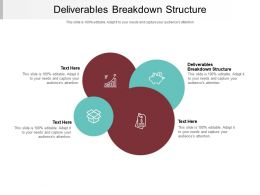 Deliverables Breakdown Structure Ppt Powerpoint Presentation Portfolio Master Slide Cpb