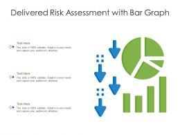 Delivered Risk Assessment With Bar Graph