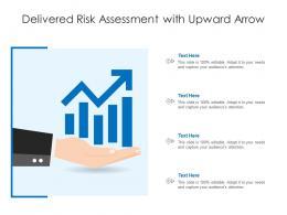 Delivered Risk Assessment With Upward Arrow