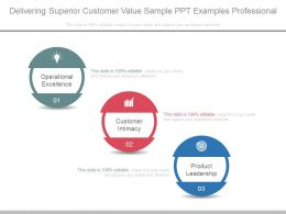 Delivering Superior Customer Value Sample Ppt Examples Professional