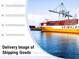 Delivery Image Of Shipping Goods