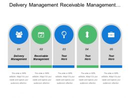 Delivery Management Receivable Management Shipping Label Customer Invoice