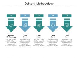 Delivery Methodology Ppt Powerpoint Presentation Summary Layout Ideas