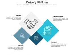 Delivery Platform Ppt Powerpoint Presentation Professional Example Introduction Cpb