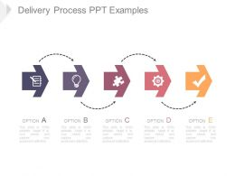 Delivery Process Ppt Examples