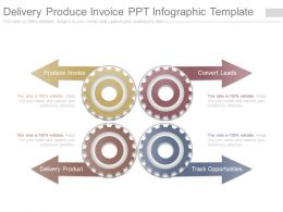 Delivery Produce Invoice Ppt Infographic Template