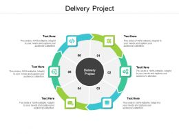 Delivery Project Ppt Powerpoint Presentation Pictures Example Topics Cpb