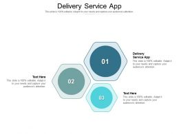 Delivery Service App Ppt Powerpoint Presentation Layouts Graphics Download Cpb