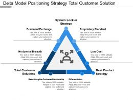 Delta Model Positioning Strategy Total Customer Solution