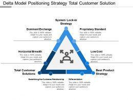 Delta Model Positioning Strategy Total Customer Solution