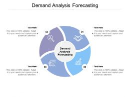 Demand Analysis Forecasting Ppt Powerpoint Presentation Styles Infographics Cpb