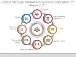 Demand And Supply Planning For Ecommerce Organization Ppt Sample Of Ppt