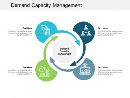Demand Capacity Management Ppt Powerpoint Presentation Ideas Themes Cpb