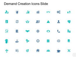 Demand Creation Icons Slide Technology A364 Ppt Powerpoint Presentation Infographic Template