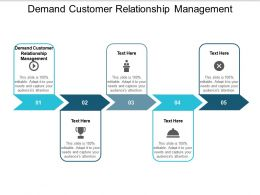 Demand Customer Relationship Management Ppt Powerpoint Presentation Infographic Template Outline Cpb