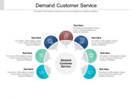 Demand Customer Service Ppt Powerpoint Presentation Show Pictures Cpb