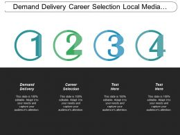 Demand Delivery Career Selection Local Media Placement Businesses Cpb
