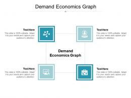 Demand Economics Graph Ppt Powerpoint Presentation Good Cpb