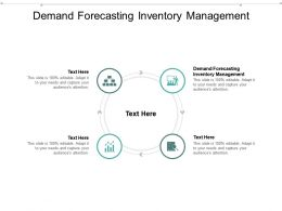 Demand Forecasting Inventory Management Ppt Powerpoint Presentation Gallery Cpb