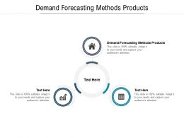 Demand Forecasting Methods Products Ppt Powerpoint Presentation Slides Microsoft Cpb