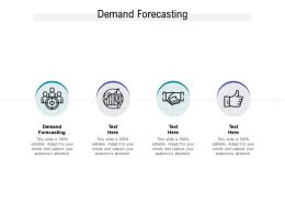 Demand Forecasting Ppt Powerpoint Presentation Ideas Slideshow Cpb