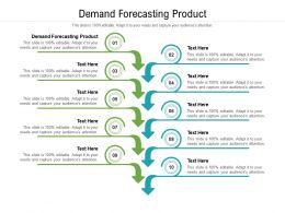 Demand Forecasting Product Ppt Powerpoint Presentation Outline Rules Cpb