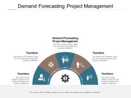 Demand Forecasting Project Management Ppt Powerpoint Presentation Outline Rules Cpb