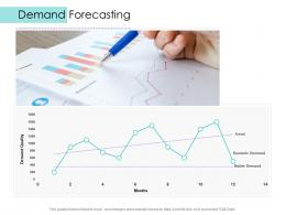 Demand Forecasting Supply Chain Management Solutions Ppt Professional