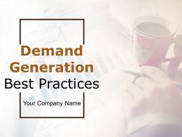Demand Generation Best Practices Powerpoint Presentation Slides