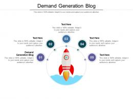 Demand Generation Blog Ppt Powerpoint Presentation Infographic Template Background Cpb