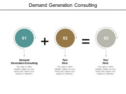 Demand Generation Consulting Ppt Powerpoint Presentation Outline Grid Cpb