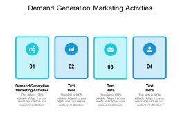 Demand Generation Marketing Activities Ppt Powerpoint Presentation File Background Image Cpb