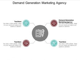 Demand Generation Marketing Agency Ppt Powerpoint Presentation Layouts Pictures Cpb